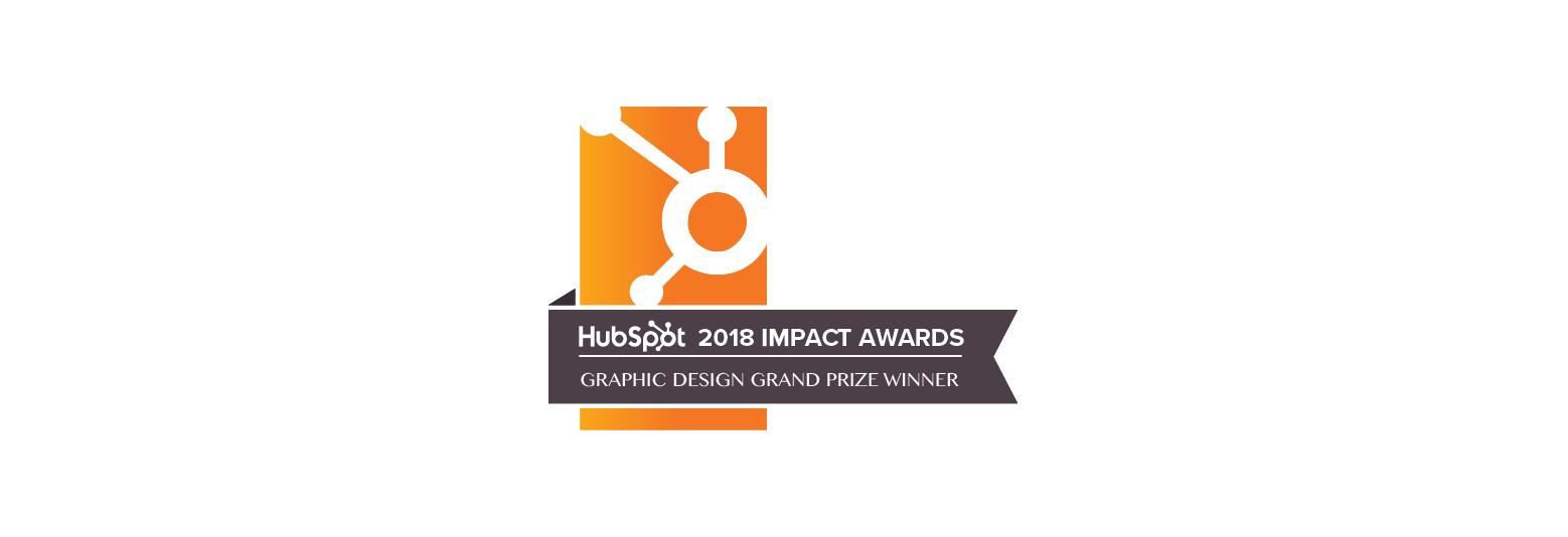 2018 Hubspot Impact Awards - International Graphic Design Grand Prize Winner