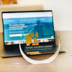 International Inbound Growth Story Grand Prize Winner: Squaredot and Travelport Digital [2018 Hubspot Impact Awards]